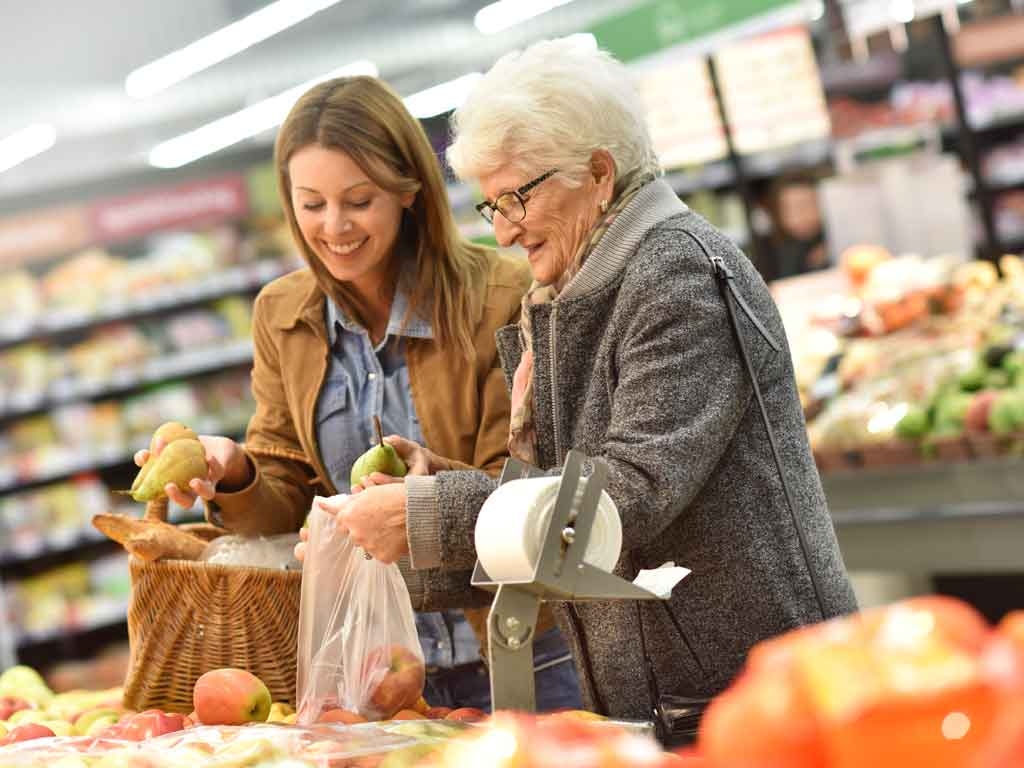 Senior Care Services Shopping